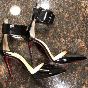 Harler d'Orsay Patent Red Sole Pumps